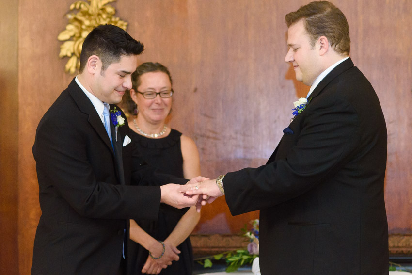 Boston Park Plaza gay wedding ceremony