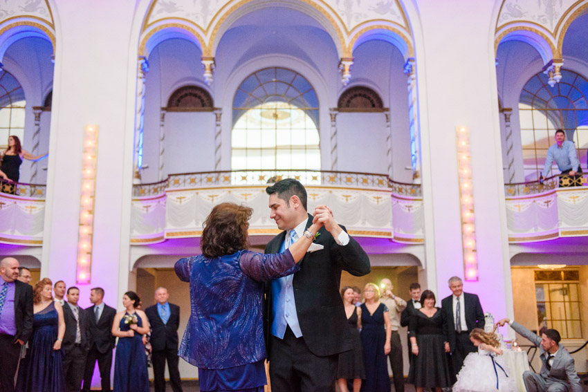 Boston Park Plaza wedding mother son dance