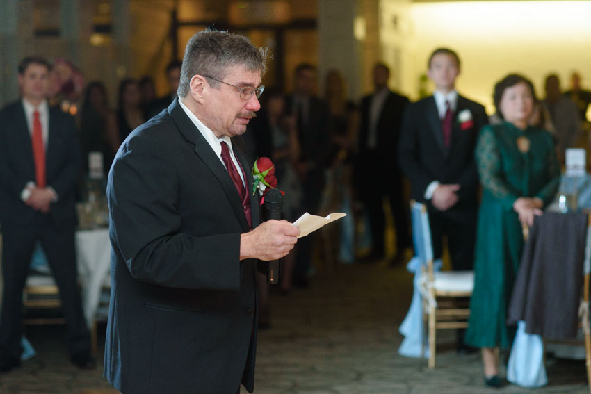 Lombardos wedding father speech