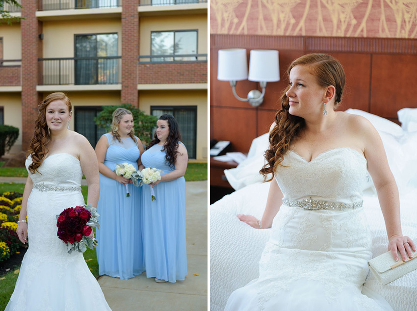 Randolph Marriott hotel wedding