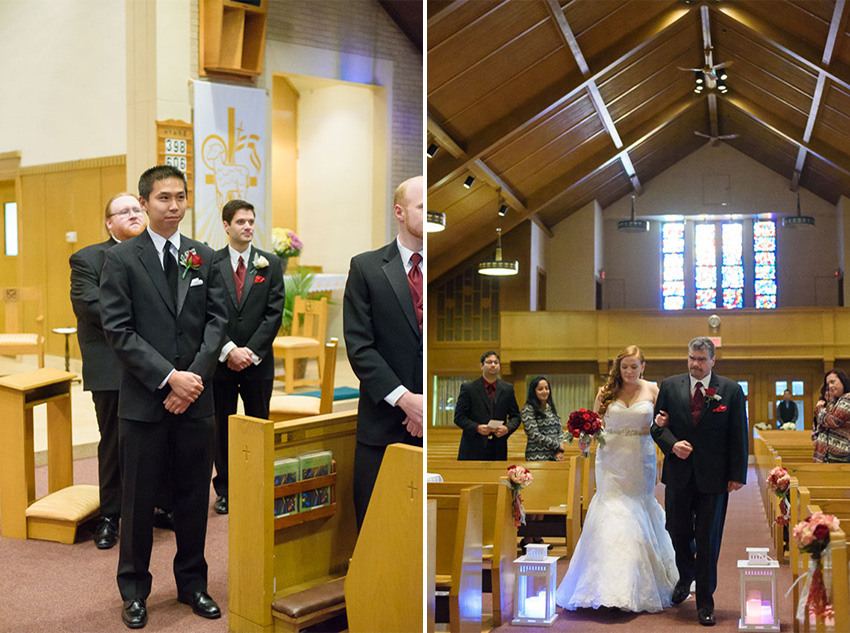 Randolph church wedding ceremony