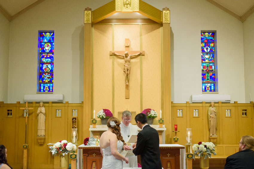 St. Bernadette Church wedding