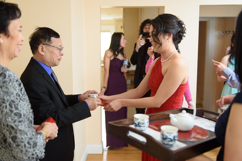 DeCordova Chinese wedding tea ceremony