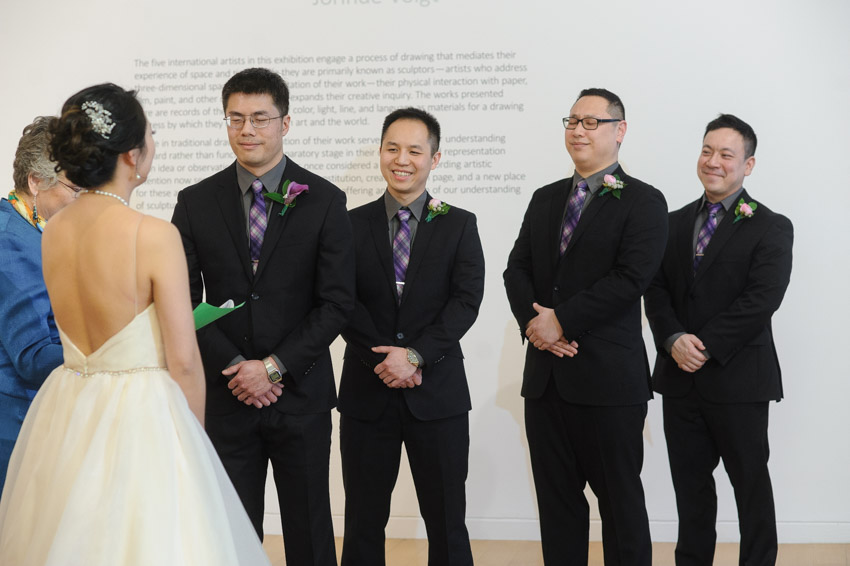 DeCordova Museum wedding indoor ceremony