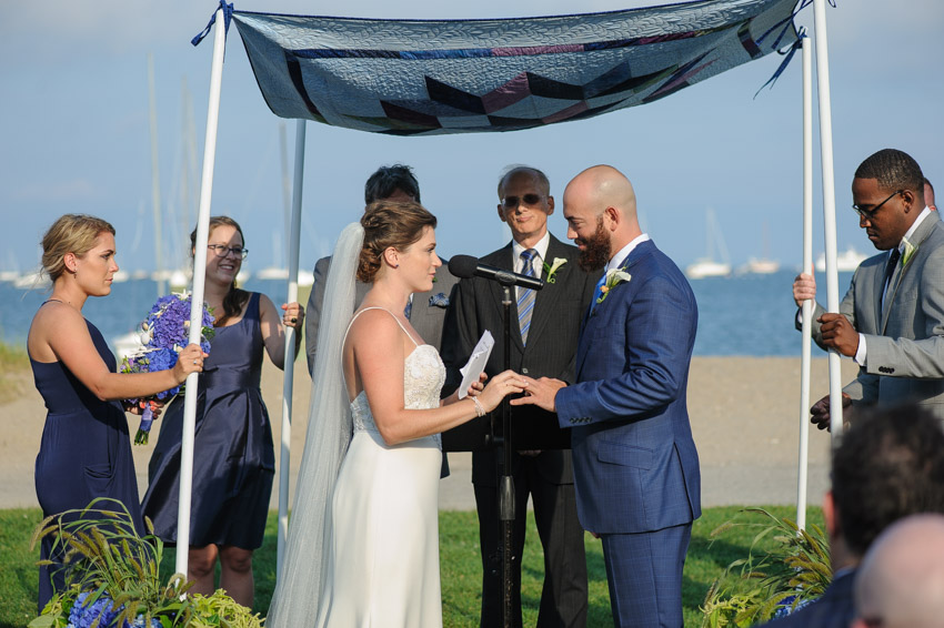 Jewish wedding at Shining Tides