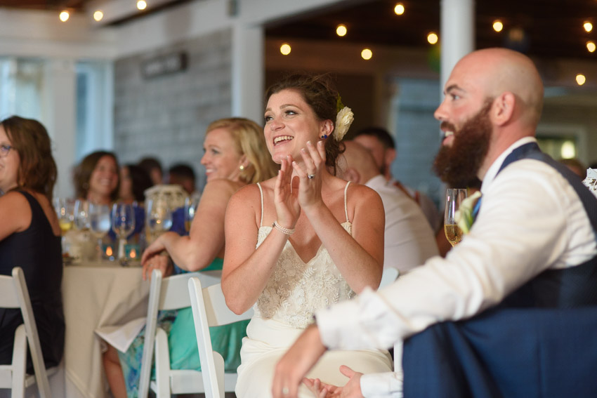 wedding reception toast Shining Tides