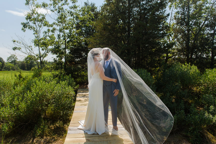 long veil bride wedding
