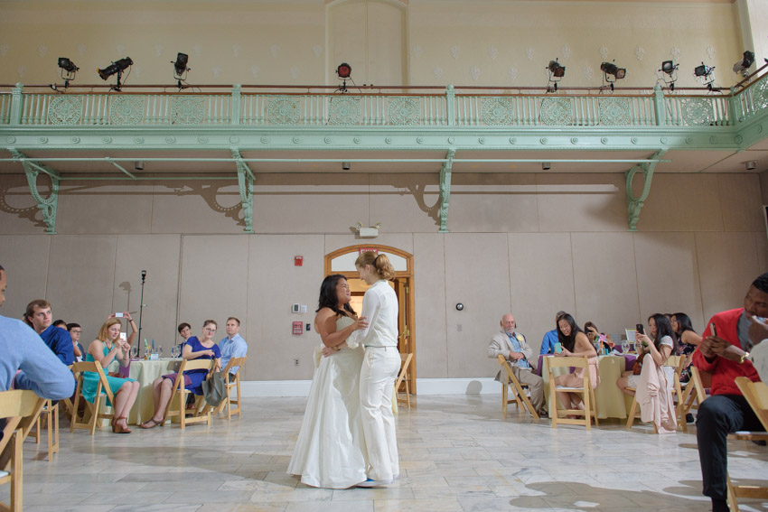 Cambridge Multicultural Arts Center wedding first dance