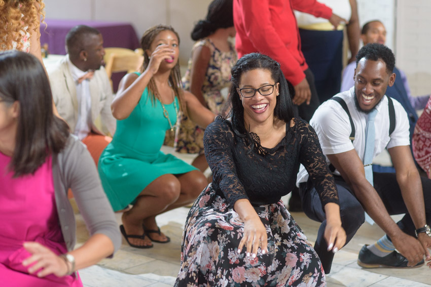 fun wedding reception dance