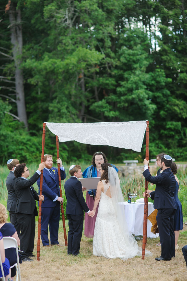 Pierce House Jewish wedding